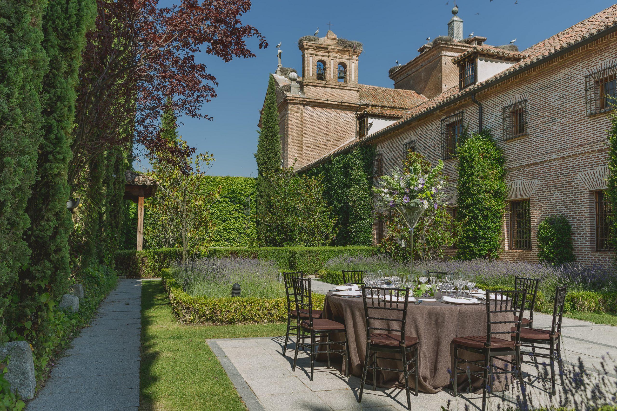 Los jardines del Antiguo Convento, el nuevo restaurante efímero del Grupo El Antiguo Convento