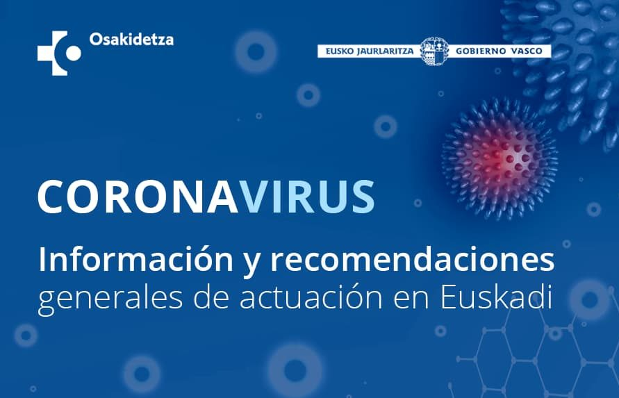 ORDEN de 18 de junio de 2020, de la Consejera de Salud País Vasco
