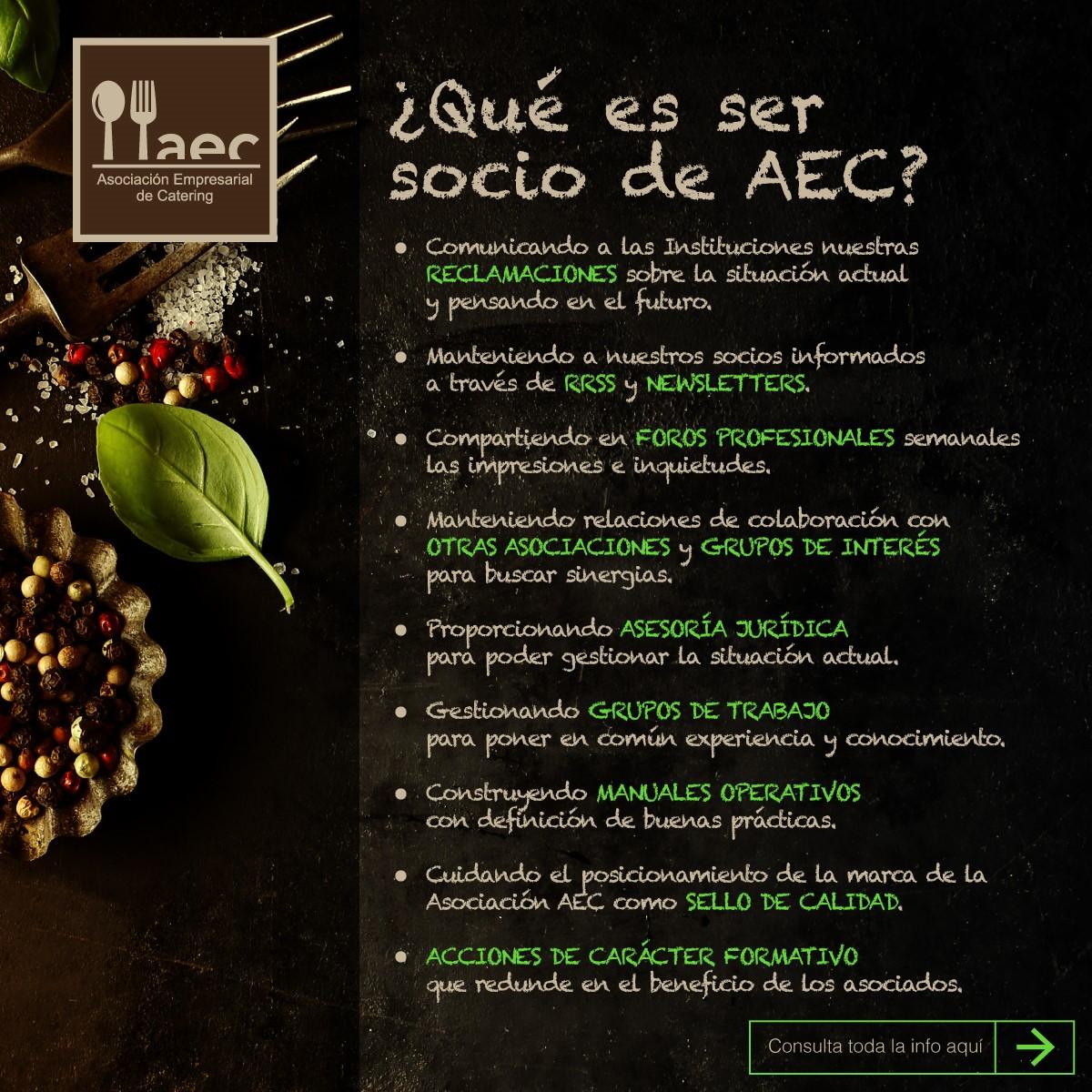 ¿Qué es ser socio de AEC?