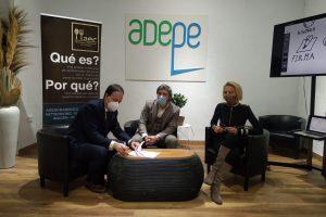 La Asociación Empresarial de Catering AEC firma un acuerdo con la Asociación de Espacios para Eventos ADEPE
