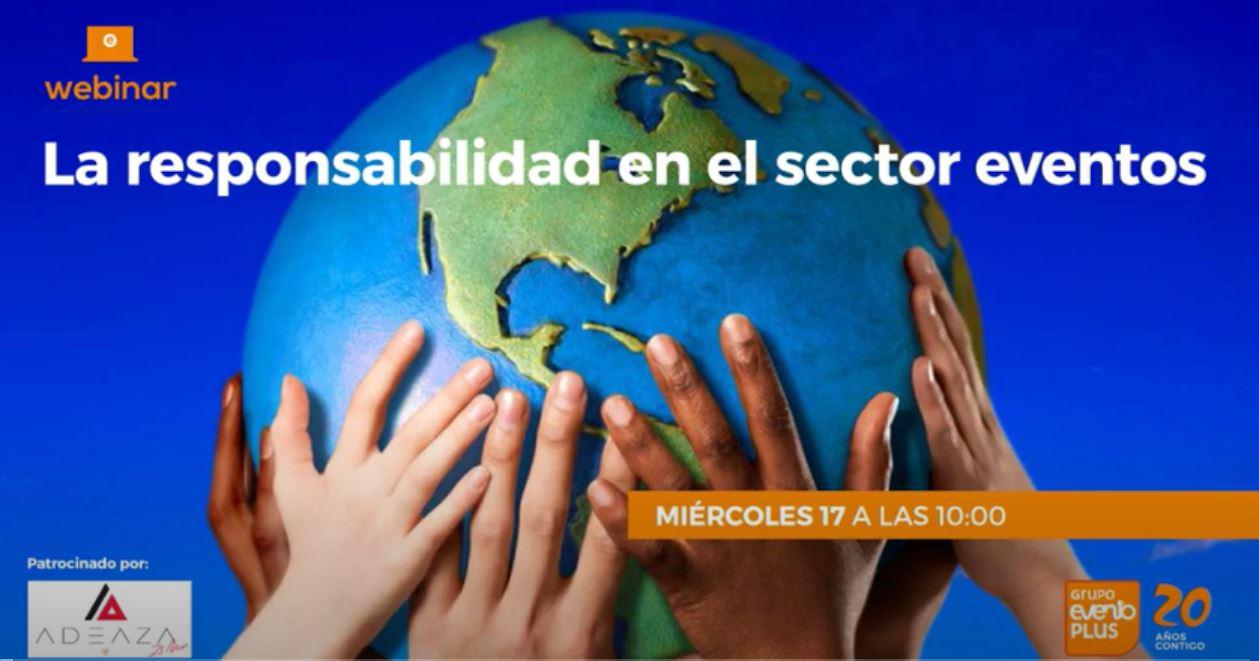 PARTICIPAMOS EN EL FORO DE EVENTOPLUS HABLANDO DE SOSTENIBILDIAD  EN LOS EVENTOS